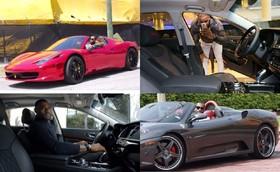 پادشاه دنیای بسکتبال سوار چه خودروهایی میشود؟