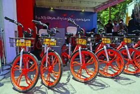 بهجای تاکسی دوچرخه کرایه کنید