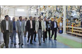 بازدید مدیران ارشد سازمان ملی استاندارد از کارخانه کارمانیا