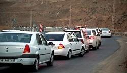 پلیس، ترافیک محور کندوان را نیمه سنگین اعلام کرد
