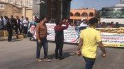 اعتراض واردکنندگان خودرو در مقابل گمرک بوشهر