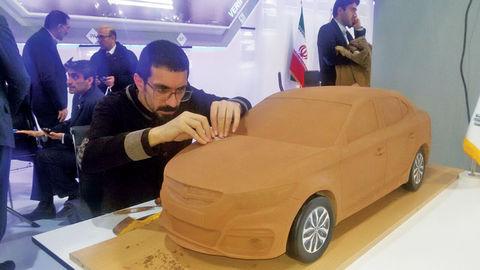 حسین سلیمانی، طراح رهام سایپا