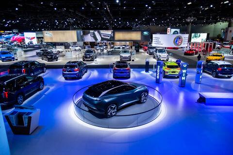 سی و پنجمین دوره از نمایشگاه خودرو لس آنجلس