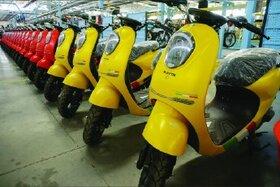 تولید موفقیت آمیز موتورسیکلت برقی در ایران