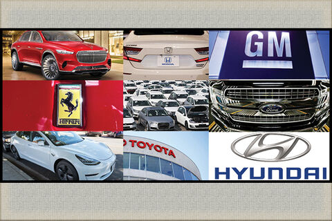 ۱۰ کمپانی با ارزش دنیای خودرو