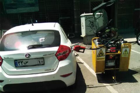 پمپ بنزین های موتور سیکلتی