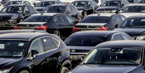 خودروهای مانده در گمرک 2500 سی سی