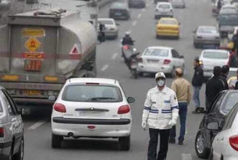 ممنوعیت تردد در تهران
