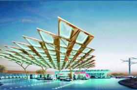 بلندینگ اماراتی با نیروی خورشید فعالیت میکند