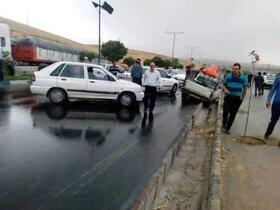 نقاط حادثه خیز رانندگی در تهران شناسایی شد