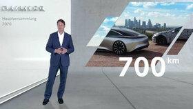 «EQS»؛ رکورد دار پیمایش خودروهای برقی
