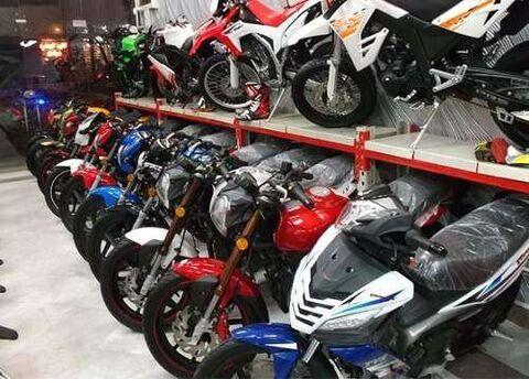 قیمت موتورسیکلت