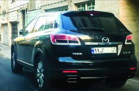 مزدا «CX-9» گذرموقت در تهران دیده شد