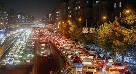 ترافیک نگران کننده در تهران/ تاکید پلیس بر تغییر ساعت طرح ترافیک