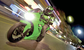 ویراژ خطر روی دوچرخ
