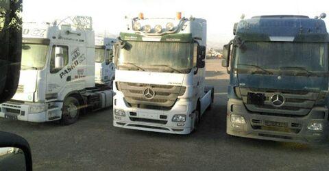 واردات کامیون های کارکرده