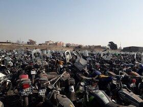 دلال ها، موتورسیکلت های فرسوده را دوباره به بازار بر می گردانند