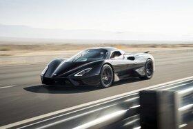 رکوردشکنی سوپر خودرو «تواتارا» با تایرهای عادی میشلن
