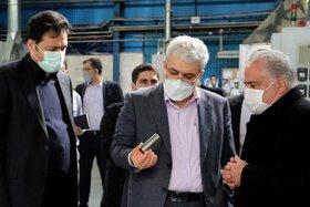 بازدید معاونت علمی فناوری رییس جمهور از ایران دلکو