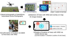 فناوری هوش مصنوعی تشخیص درخت کائوچو بیمار «بریجستون»