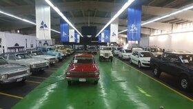 نمایشگاه خودروهای کلاسیک پارس خودرو افتتاح شد