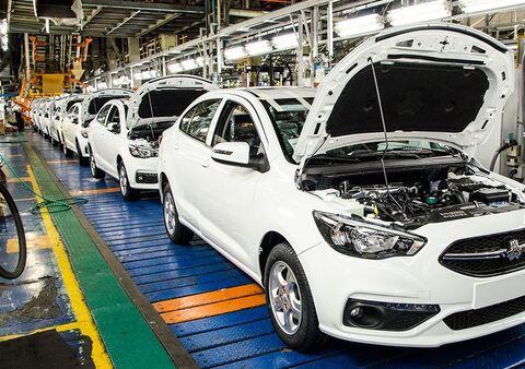 خط تولید خودرو شاهین