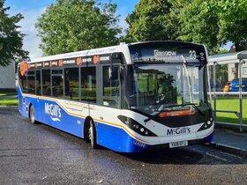 همکاری میشلن در بازسازی اتوبوس های مک گیلز