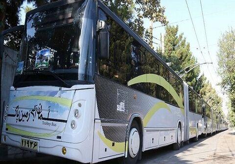 راهاندازی اتوبوس برقی