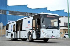 اتوبوس آمبولانس ساخت داخل به تولید انبوه رسید