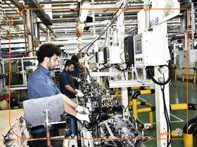 رشد ۶۳ درصدی تولید در مگاموتور سایپا