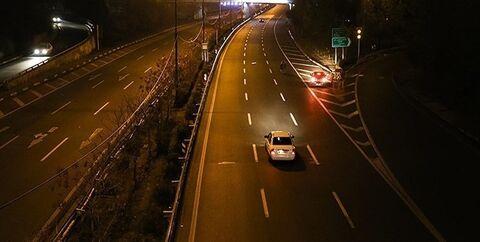محدودیت های تردد شبانه
