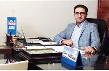مجید همدانی، مدیرعامل شرکت نشت بن
