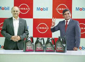 تامین روغن موتور نمایندگی های نیسان هند توسط اکسان موبیل