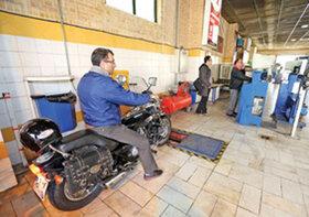 میزان مراجعه موتورسیکلت ها به مراکز معاینه فنی صفر شد