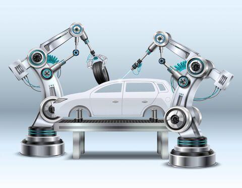 تحقیق و توسعه صنعت خودرو