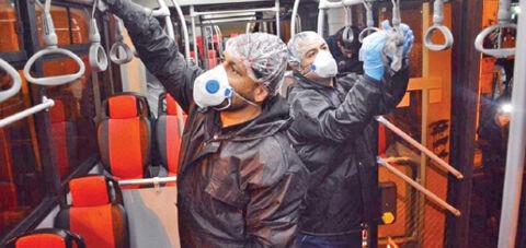 حمل و نقل عمومی تهران