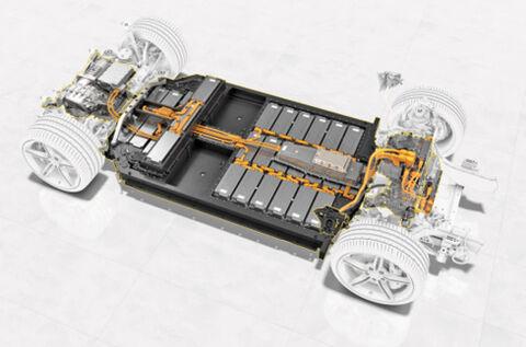 سایت تولید باتری پورشه در آلمان