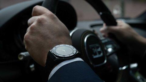 ساعت مچی هوشمند بوگاتی