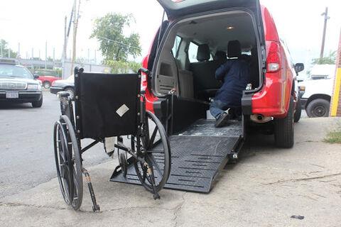 خودروسواری با ویلچر