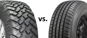 تفاوت تایرهای All-Terrain و Mud-Terrain