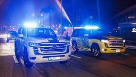 تویوتا لندکروز 2022 به ناوگان پلیس دوبی پیوست