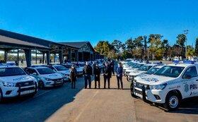 خودروهای جدید پلیس آرژانتین