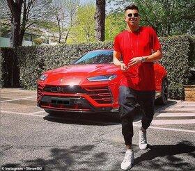 شکایت سارق خودرو از بازیکن معروف تیم رم ایتالیا!