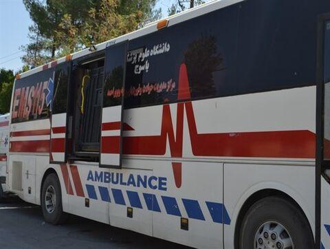 اتوبوس آمبولانس ها