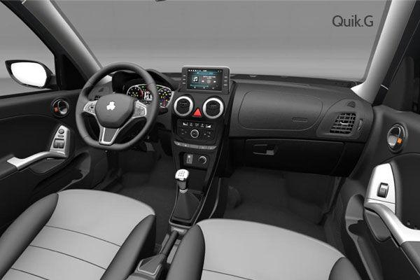 مشخصات کامل خودرو کوییک S و G شرکت سایپا