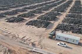 بزرگترین قبرستان لاستیک جهان در کویت