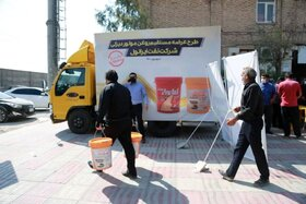 عرضه مستقیم محصولات دیزلی ایرانول در پایانه صادراتی امامخمینی (ره)