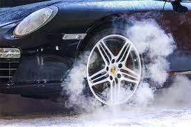 گرم کردن چرخها