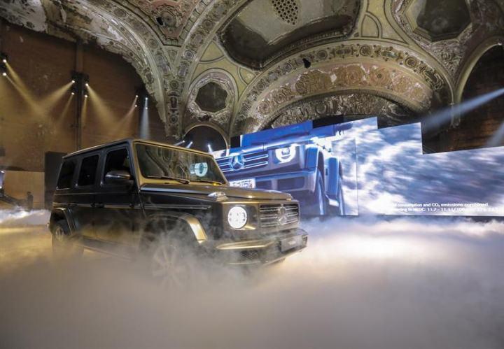 مراسم رونمایی مدل2019 کلاسG مرسدسبنز