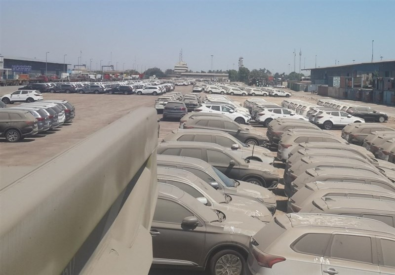 خودروهای متوقف در گمرک